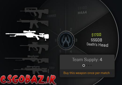 اسلحه تخصصی (Weapons Expert)