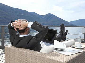 استراحت کردن باعث رفع سریع خستگی میشود !