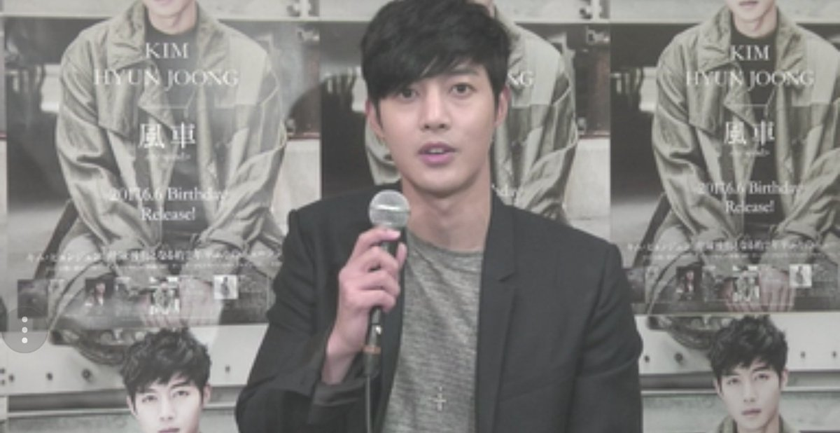 Kim Hyun Joong rewind Album new CD launch event - nicovideo Live 2017.06.06