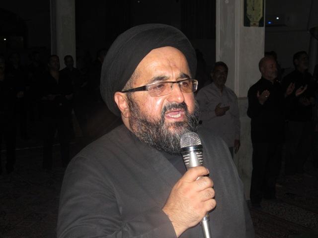 مراسم احیای شب 21 ماه مبارک رمضان در محله صادقیون رفسنجان برگزار  شد