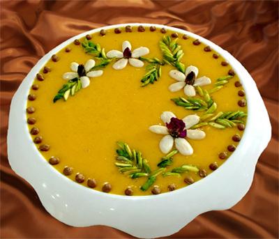 طرز تهیه حلوا زرده همدانی، یک حلوا مقوی برای افطار ماه رمضان