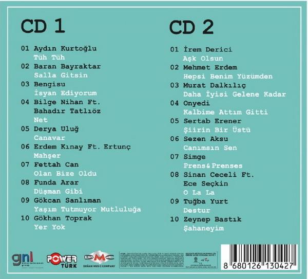 Power Türk En İyiler 2017 (2 CD) [2017]-2