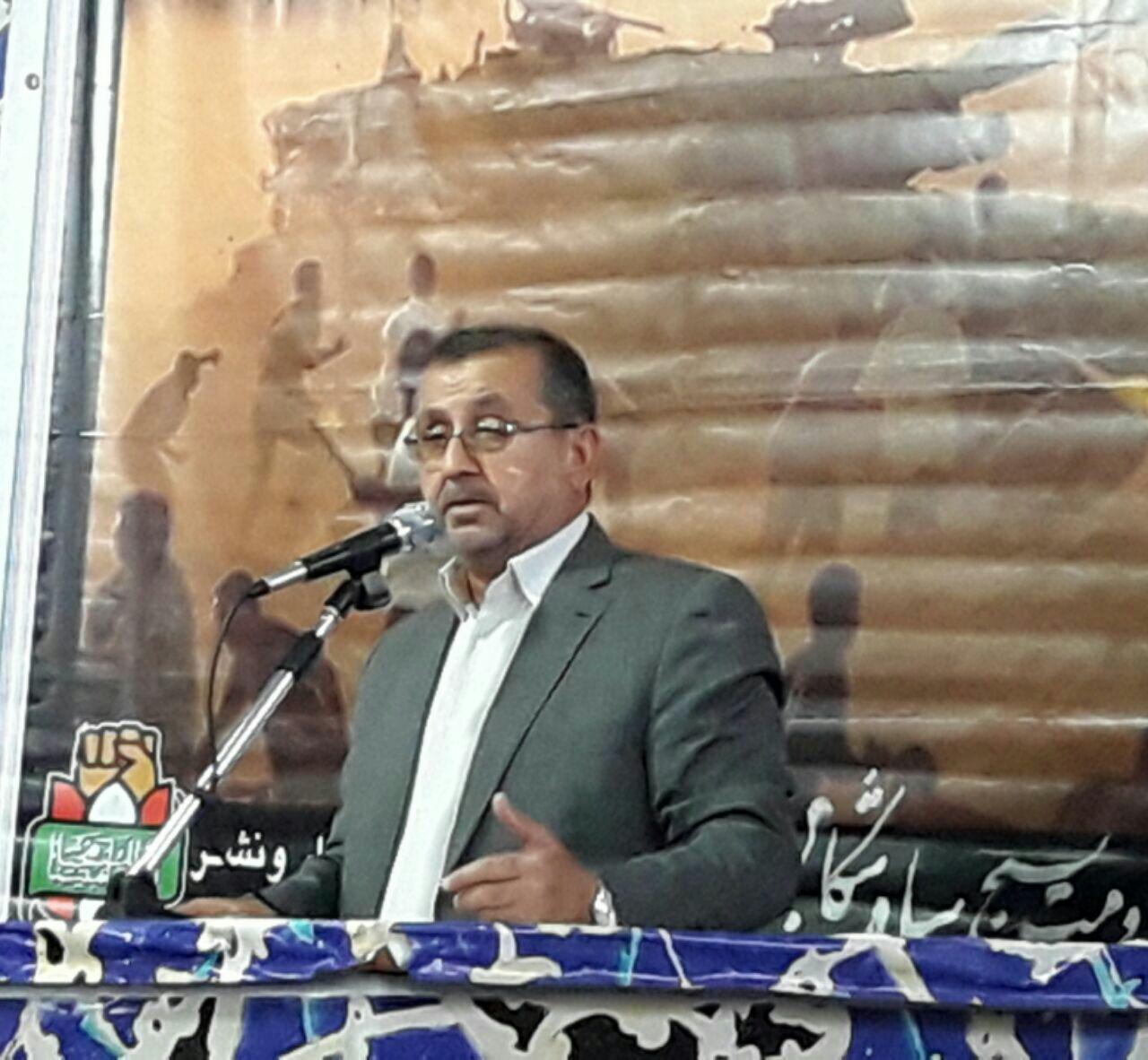 شریعت نژاد : ملت های مظلوم جهان به برکت انقلاب اسلامی در اوج عزت و اقتدار قرار دارند