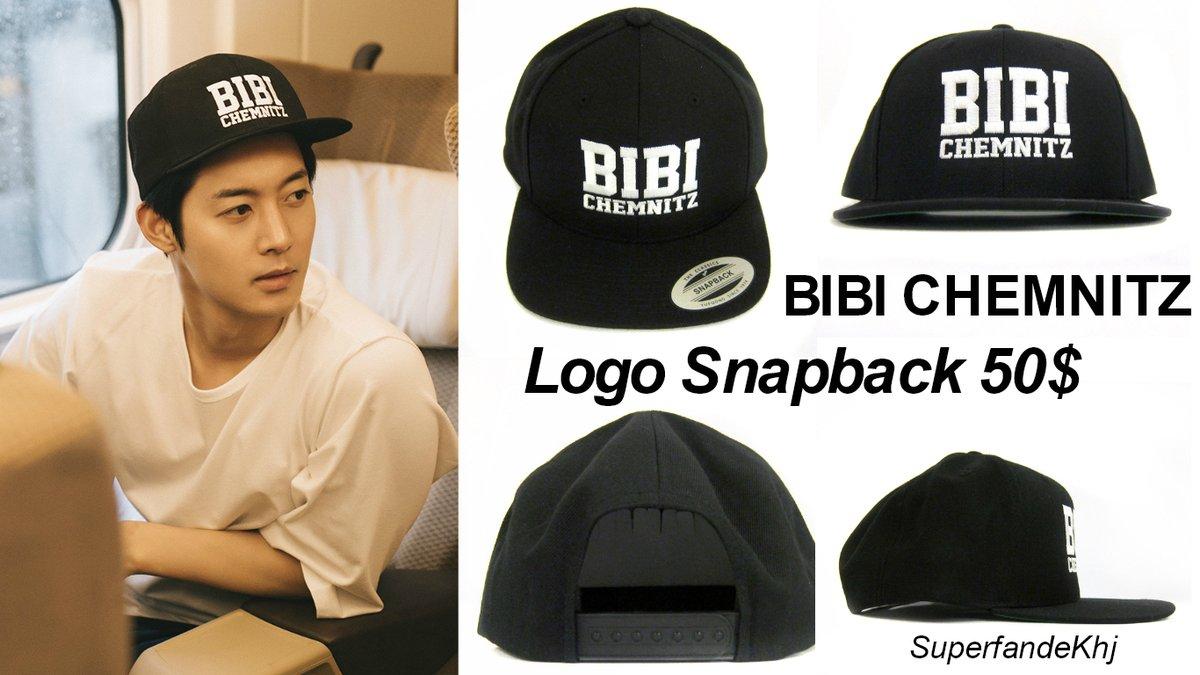 [Sponsor] Kim Hyun Joong Cap ~ BIBI CHEMNITZ LOGO SNAPBACK 50$ [2017.06.21]