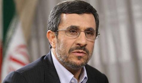 محمود احمدي نژاد عيد فطر را تبريک گفت