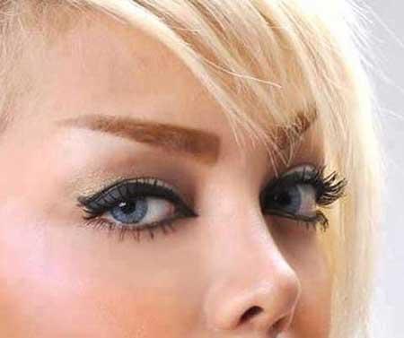 ابروي پهن زيبا و جذاب - مجله اينترنتي هلو