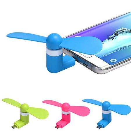 مینی پنکه USB موبایل و تبلت