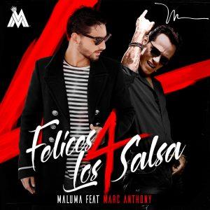 دانلود آهنگ اسپانیایی جدید Maluma و Marc Anthony  به نام Felices