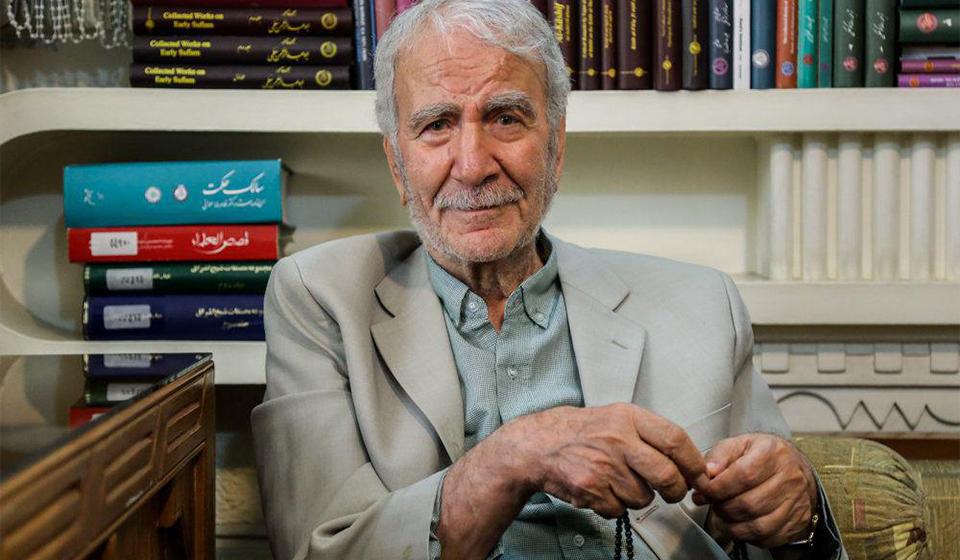 دکتر غلامحسین دینانی استاد فلسفه دانشگاه تهران