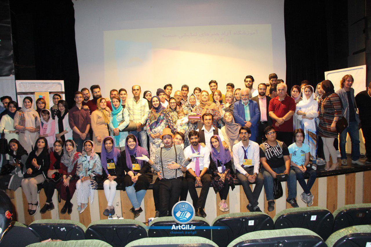 اولین روز از نهمین جشنواره تئاتر صحنه در رشت+گزارش تصویری