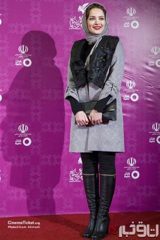 مدل های مانتو مشکی زنان بازیگر ایرانی 2017