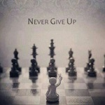 never give up یعنی چه