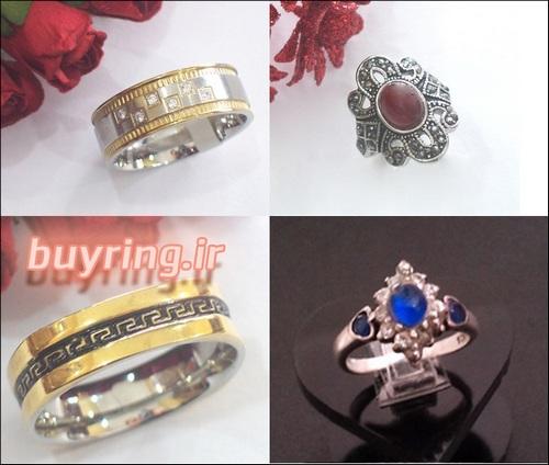 فروش انواع انگشتر زنانه دخترانه با قیمت مناسب
