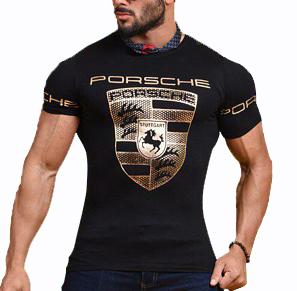 تیشرت مردانه طرح Porsche