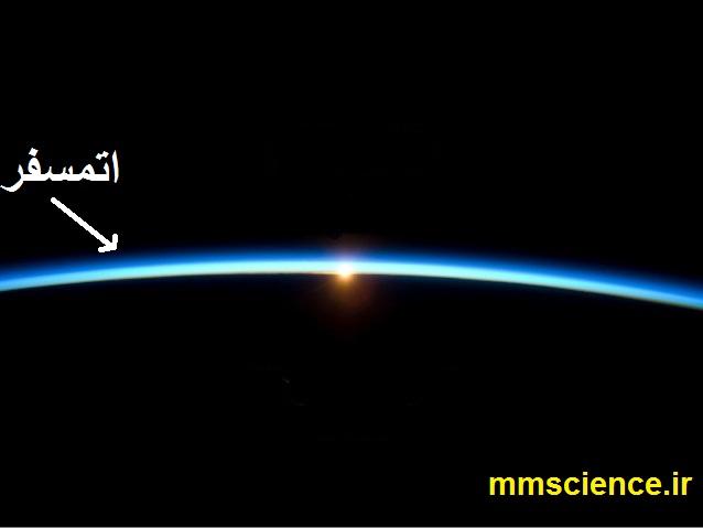 اتمسفر از فضا