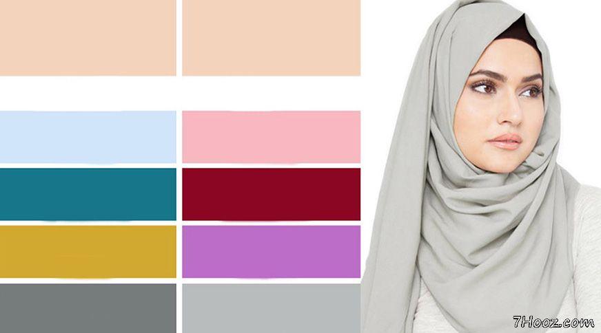 خريد شال و روسري متناسب با رنگ پوست شما