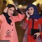 آزاده صمدي و بهاره کيان افشار
