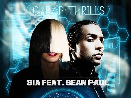 آهنگ Cheap Thrills از Sia feat. Sean Paul
