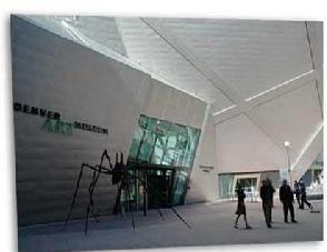 تاریخچه موزه هنر دنور