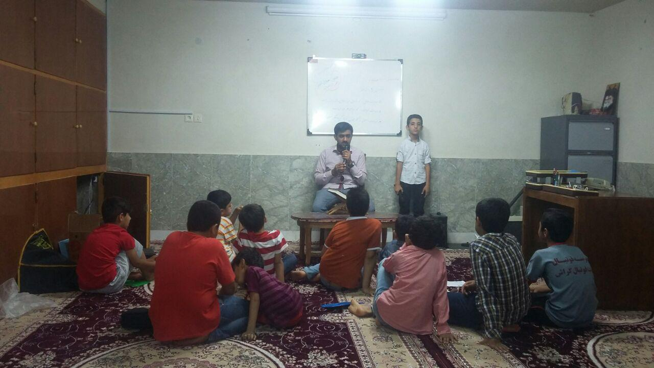 برگزاری کلاس های اذان و اقامه توسط ابوطالب سپهر