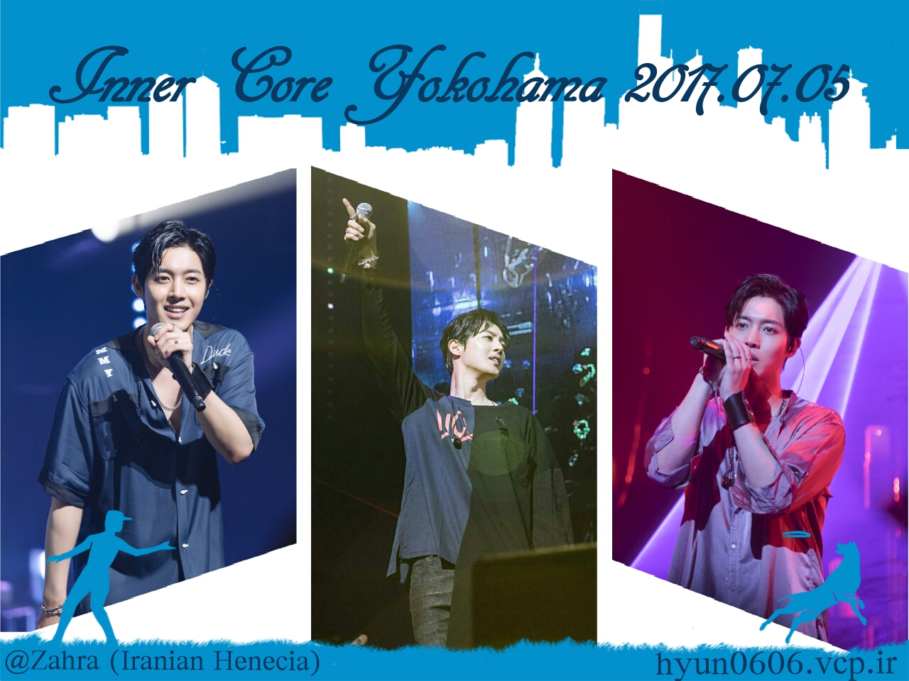 My Fanart of Kim Hyun Joong Inner Core Tour 2017