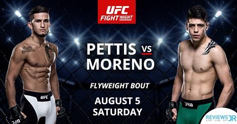 دانلود یو اف سی فایت نایت 114 | UFC Fight Night 114: Pettis vs. Moreno