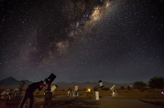 رصد و نجوم در کویر