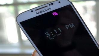 با خبر شدن از رویداد های جدید در گوشی های بدون LED