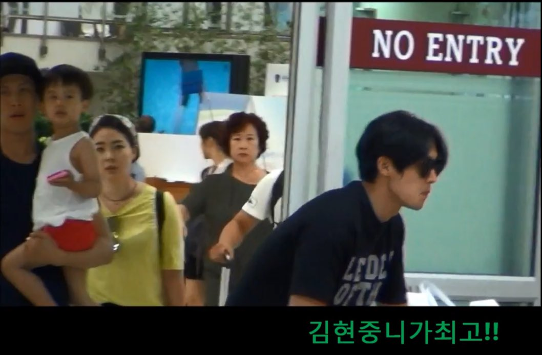 [Fanpics+Fancam] Kim Hyun Joong Arrived at Gimpo Airport [2017.07.30]
