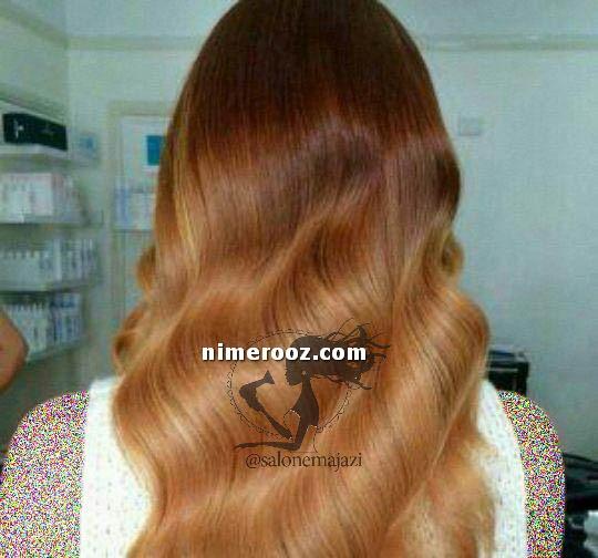 ترکیب رنگ مو قهوه ای شکلاتی متوسط-عکس رنگ مو قهوه ای متوسط
