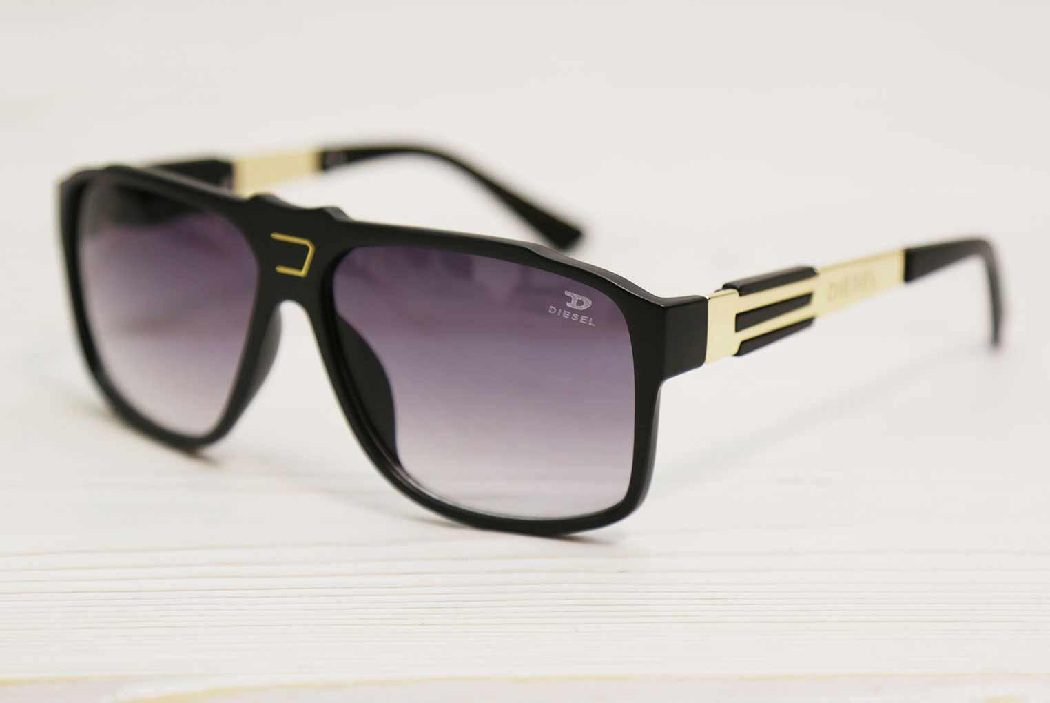 عینک دودی دیزل 3 لاین
