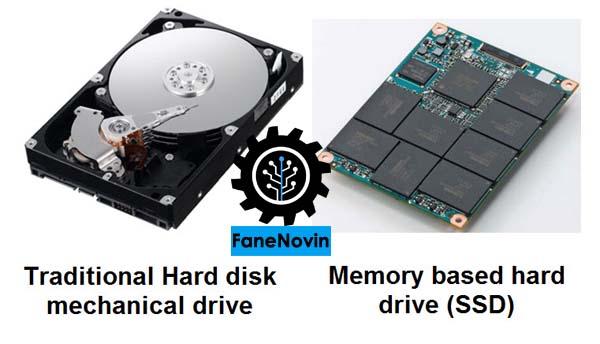 تفاوت و مزیت های  هارد دیسکهای