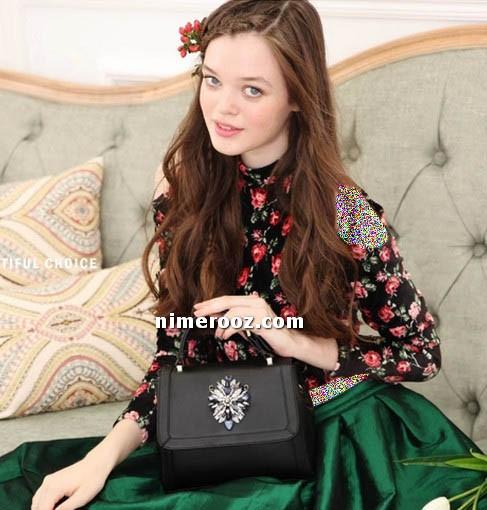 عکس مدل کیف دخترانه زنانه سایز کوچک مدل 2018 کیف زنانه مد در سال 97