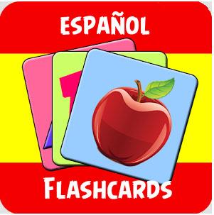 اپلیکیشن فلش کارت های آموزش زبان اسپانیایی برای اندروید