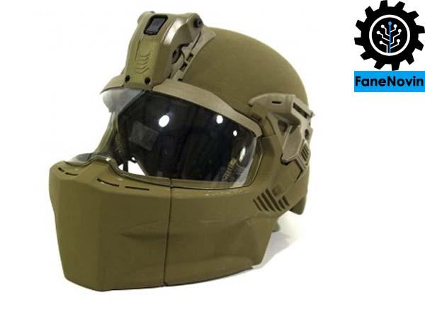 کلاه خود رزمی IHPS ؛ جدیدترین پوشش ساخته شده برای محافظت از مهمترین بخش بدن