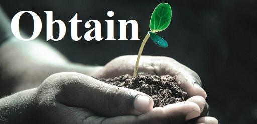 گرفتن – Obtain – آموزش لغات کتاب ۵٠۴ – English Vocabulary – کدینگ لغات ۵٠۴