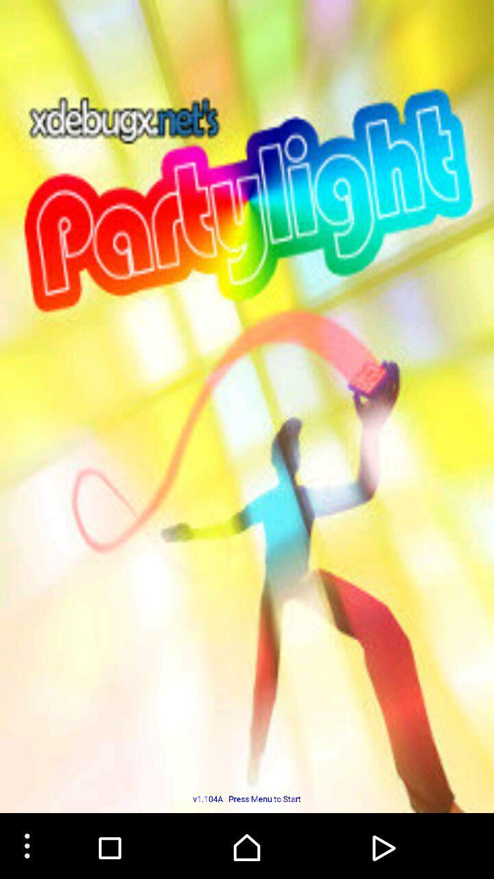 دانلود برنامه رقص نور و چراغ قوه اندروید دانلود نرم افزار پارتی لایت Party Light