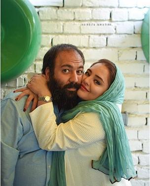 نرگس محمدي و همسرش