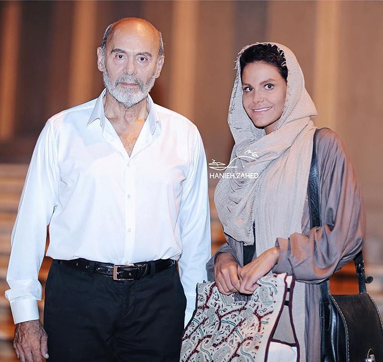 عکس جدید جمشید هاشم پور با دخترش