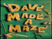 دانلود فیلم دیو هزارتو میسازه - Dave Made a Maze 2017