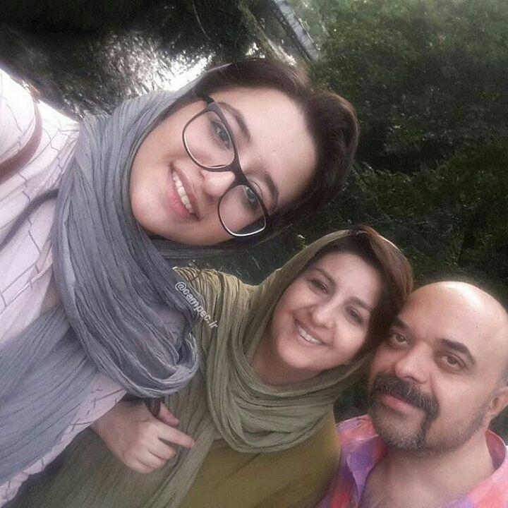 عکس آرش نوذری با همسر و دخترش