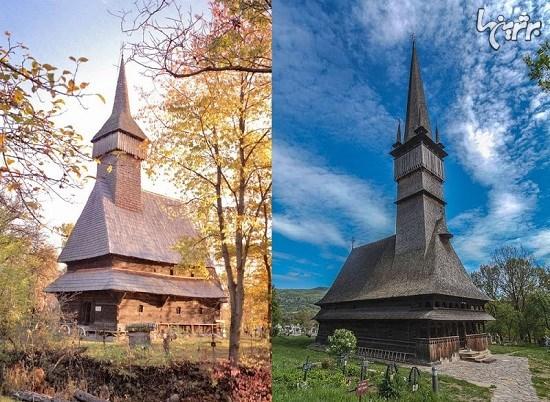 کلیساهای چوبی در رومانی