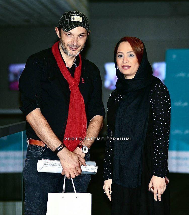عکس جدید رامین پرچمی با همسرش
