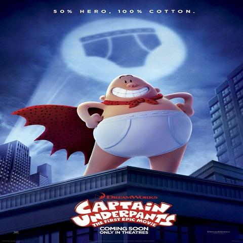 دانلود فیلم Captain Underpants 2017 با دوبله فارسی