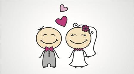 لغات انگلیسی مربوط به ازدواج