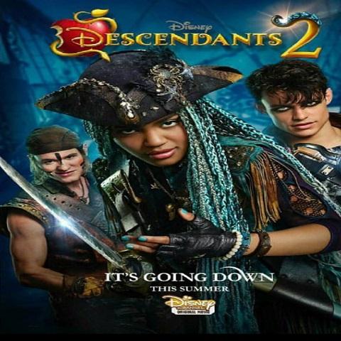 دانلود فیلم Descendants 2 2017 با دوبله فارسی