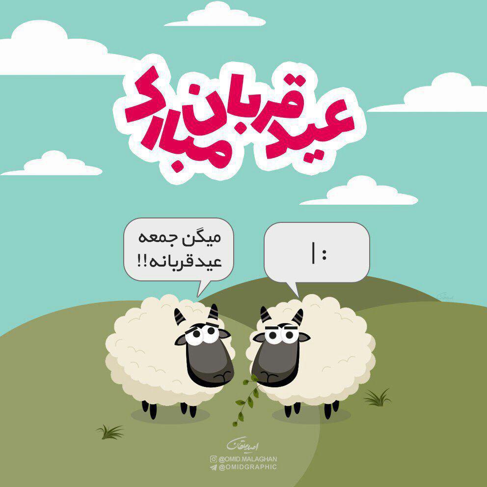 عید قربان است من قربانت شوم