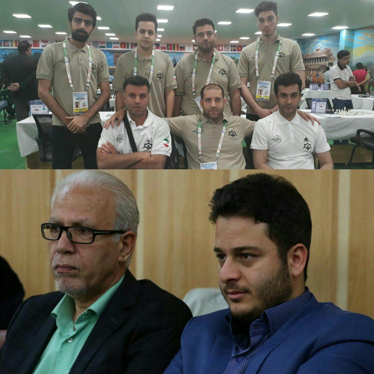 پیام تبریک عاقل منش در پی قهرمانی تیم شطرنج شهرداری رشت