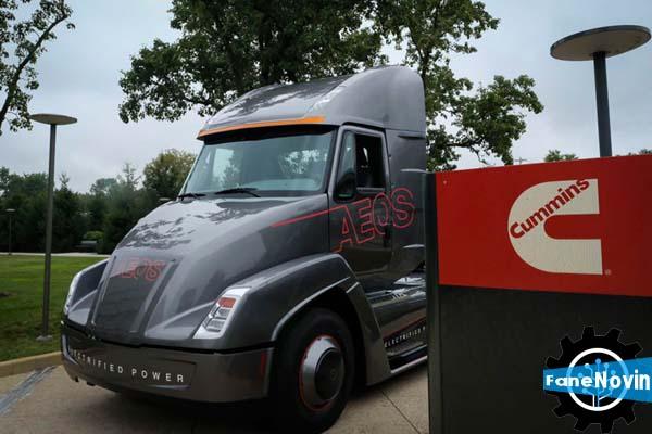 کامیون برقی شرکت کامینز، پیش از تسلا رونمایی شد