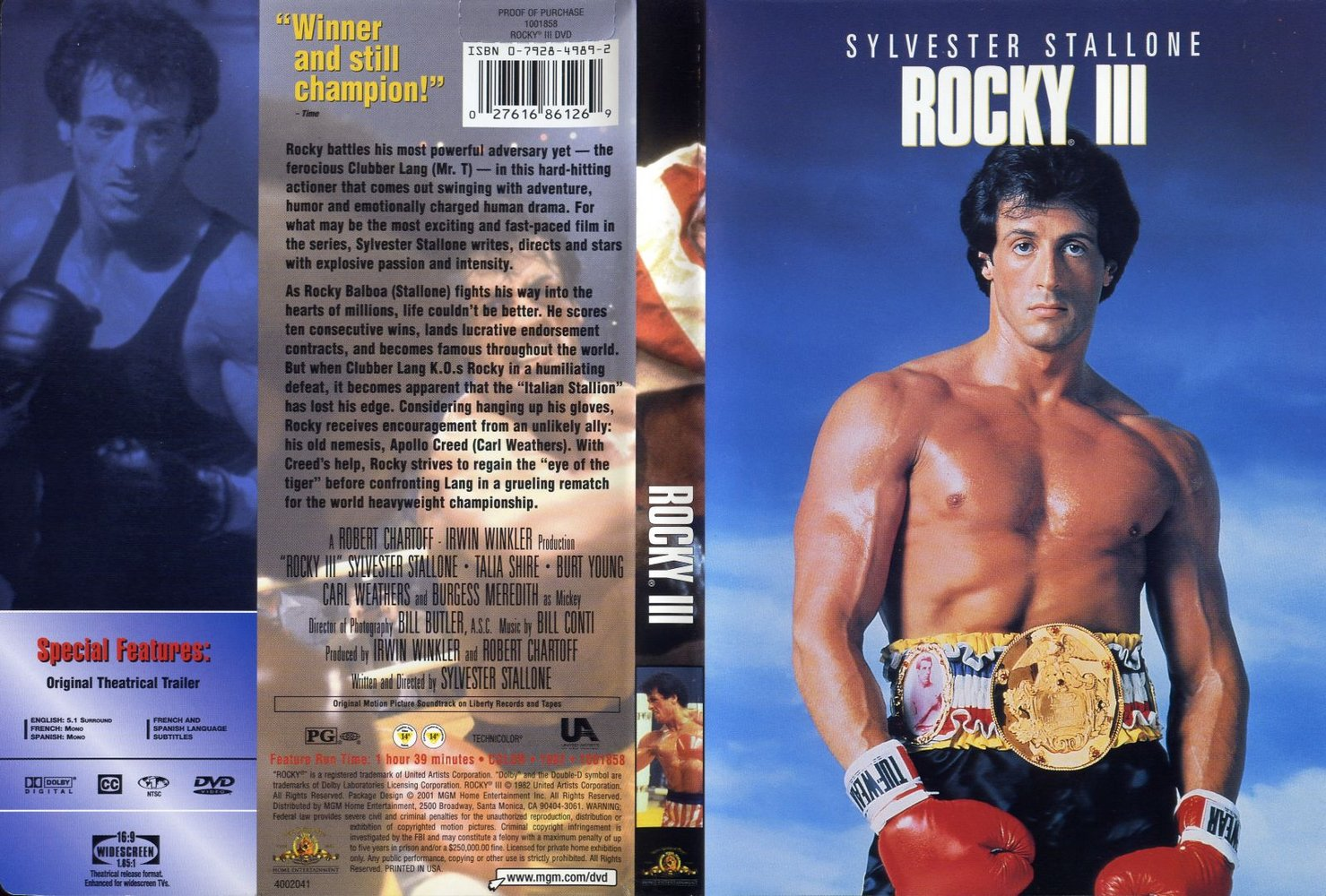 کاور فیلم Rocky III